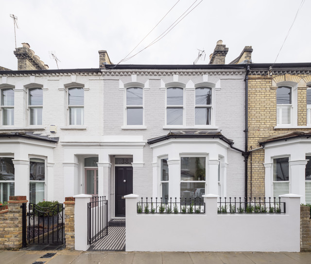 Complete House Renovationtraditional Exterior London