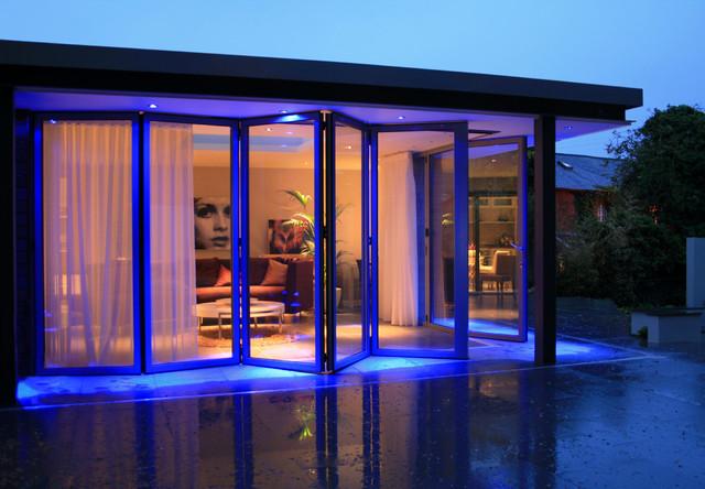 Contemporary garden room extension for Contemporary garden rooms extensions