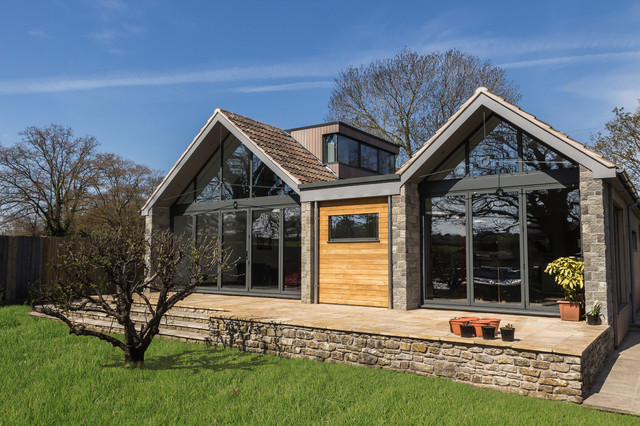 Copperlea saltford uk contemporary exterior south Contemporary house designs uk
