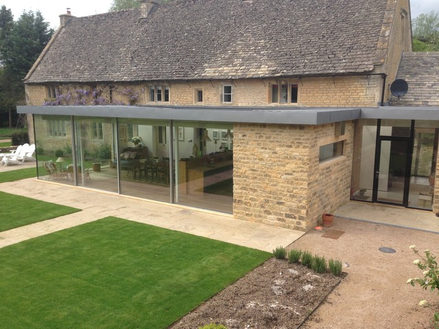 Cotswold Stone Modern Extension Exterior