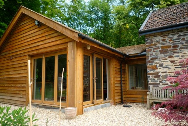 Country Contemporary Timber Clad Extension Traditional