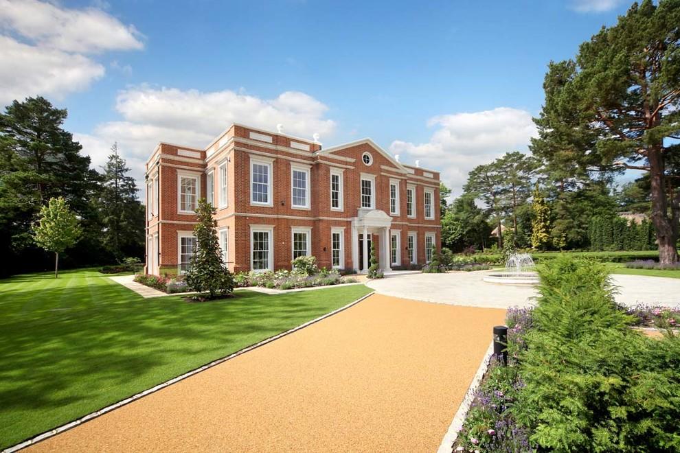Traditional exterior in Surrey.