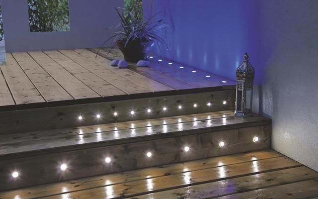 Decking & Ground Lights - Contemporary - Exterior - Hampshire - by B&Q:Decking & Ground Lights contemporary-exterior,Lighting