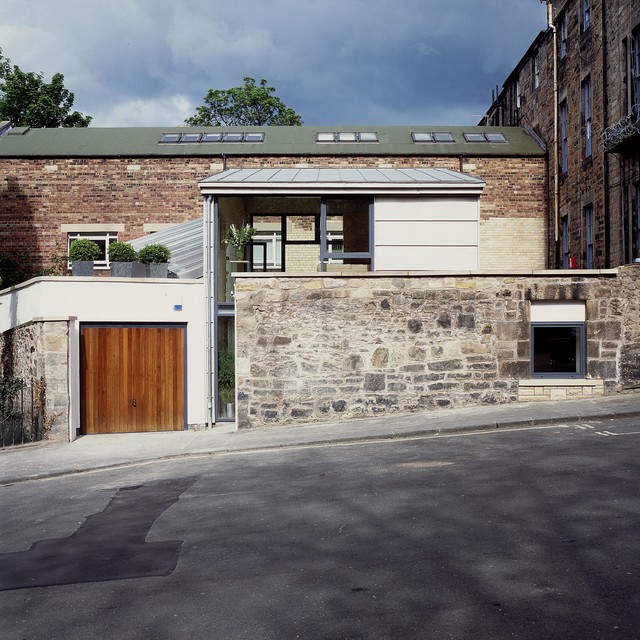 Edinburgh New Town House - Contemporary - Exterior - Edinburgh - by Zone Architects