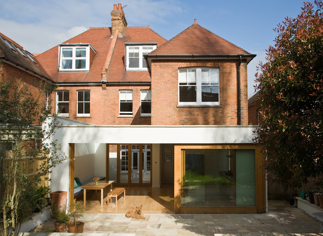 Edwardian house renovation in london contemporary for External house renovation
