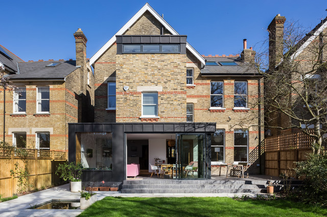 Extension And Renovation Of A Large South London House Modern