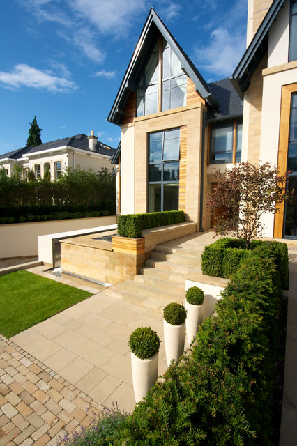 Family Garden by Barnes Walker Landscape Architects, Manchester - Contemporary - Exterior - Manchester - by Barnes Walker Ltd - Landscape Architects