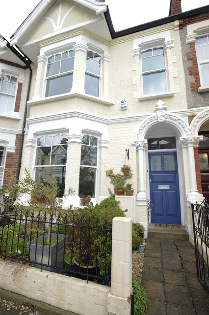 Family House In Wimbledon Traditional Exterior