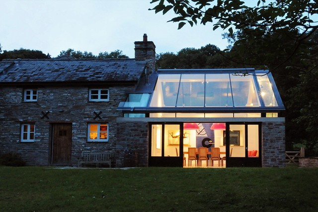 Farmhouse Extension, Welsh Marches Transitional Exterior