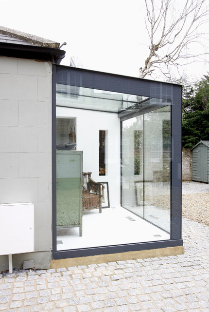 Glass Box Extensions - Eclectic - Exterior - other metro - by IQ Glass ...