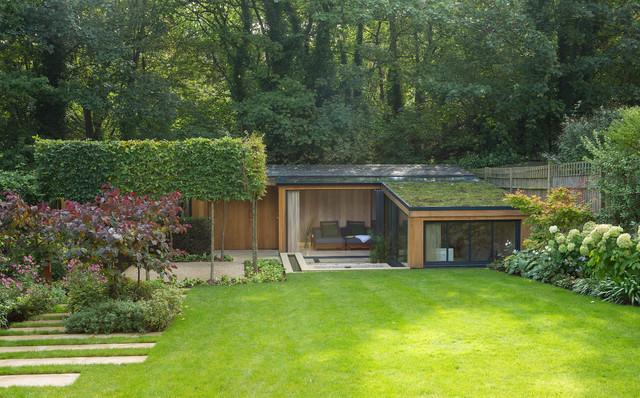 Highgate garden room contemporary exterior london for Modern garden rooms london