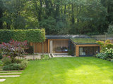 contemporary exterior Outdoors: Gorgeous Garden Rooms You'll Never Want to Leave (10 photos)