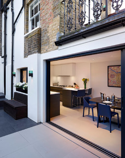 Holland park house renovation victorian exterior for Holland kitchen bathroom design ltd