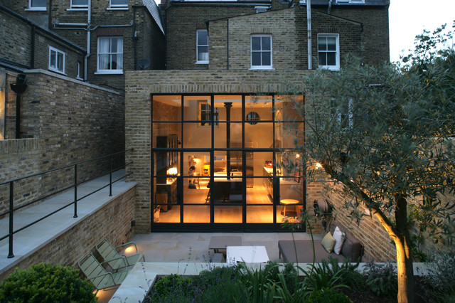 House Two contemporary-fasad