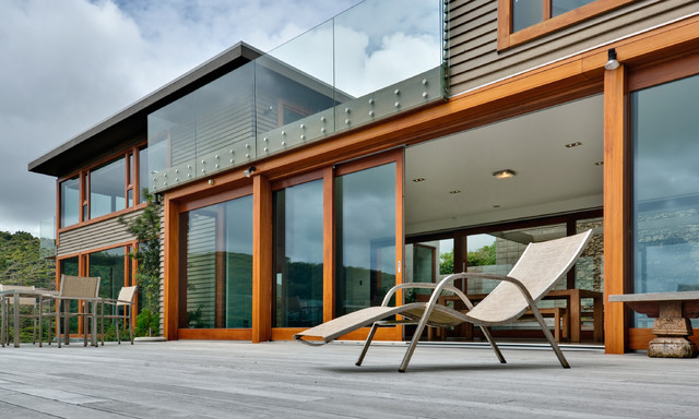 Hs Portal Lift Slide Doors Modern Exterior Cornwall By