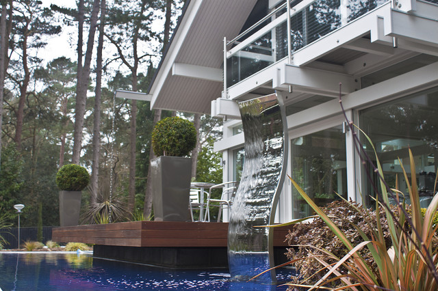 Huf haus poole dorset contemporary exterior by - Architects poole dorset ...