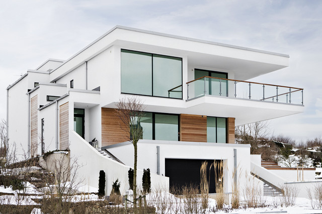 Inspiration for Scandinavian style homes exterior
