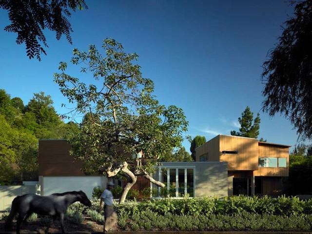 Kaplan Wright House LA modern-exterior
