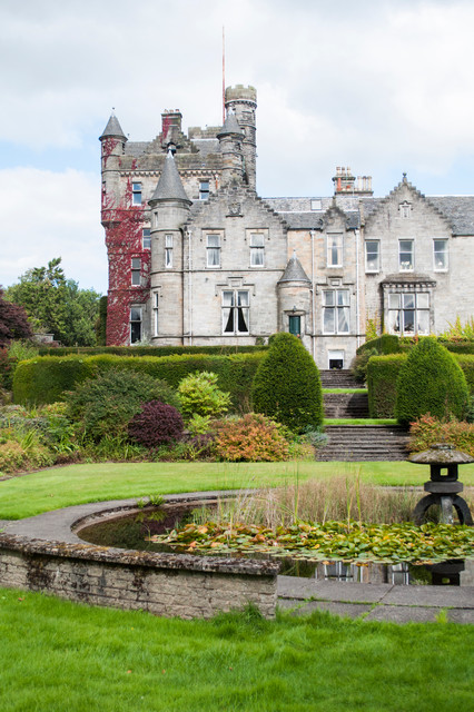 Living In A Castle In Glasgow Traditional Exterior
