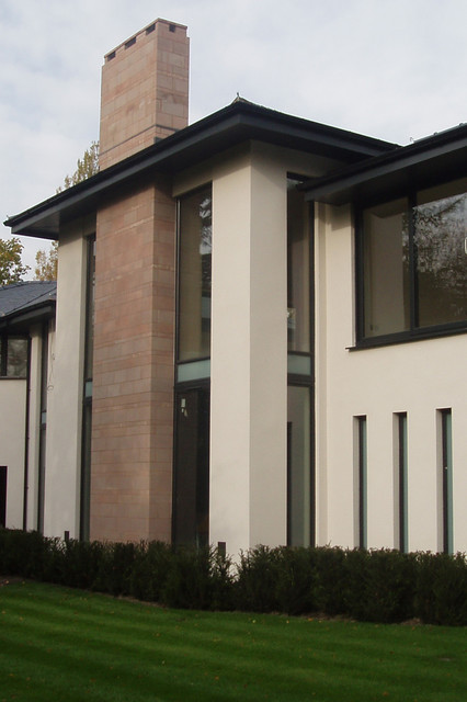 Lux Modern House Modern Exterior Manchester Uk By