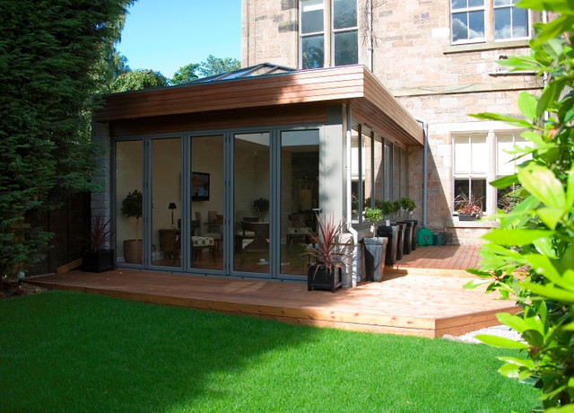 Modern and Contemporary Bespoke Glass Extensions - Interiors and Exteriors  modern-exterior