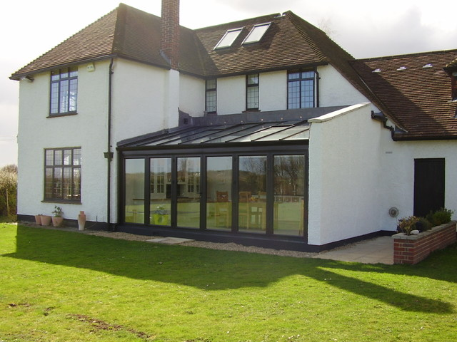 Modern And Contemporary Glass Extensions Contemporary