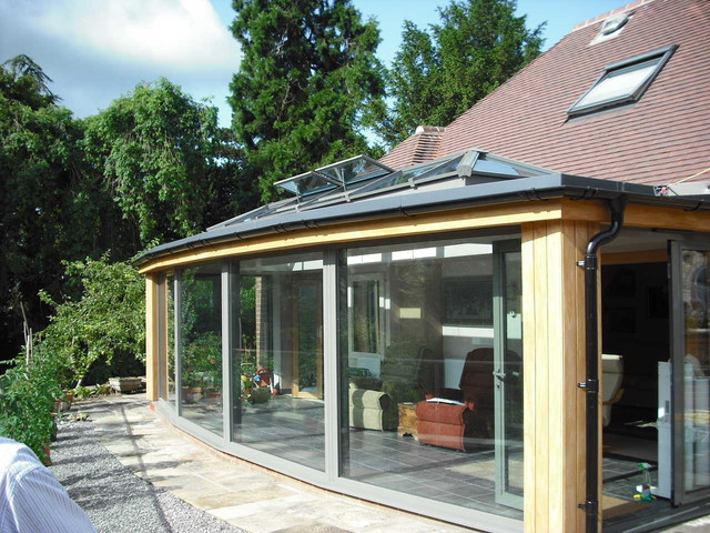 Modern and Contemporary Glass Extensions exterior