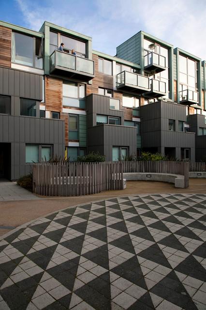 Modern apartment exterior contemporary exterior for Exterior design specialists
