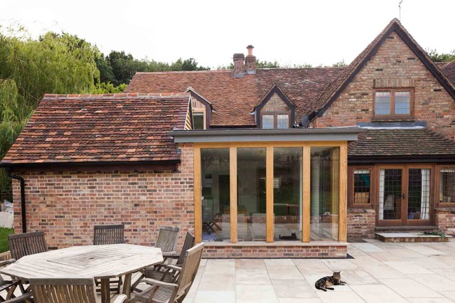 Modern Extension To Listed Building Modern Exterior