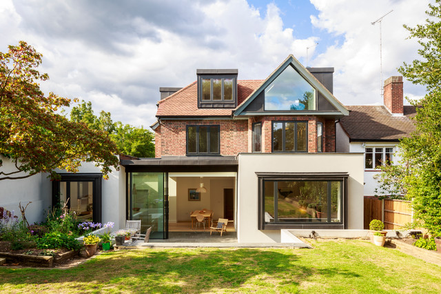 Muswell hill house scandinavian exterior london by for Big cute houses