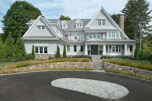 Nantucket shingle style beachside home exterior for Nantucket shingle style