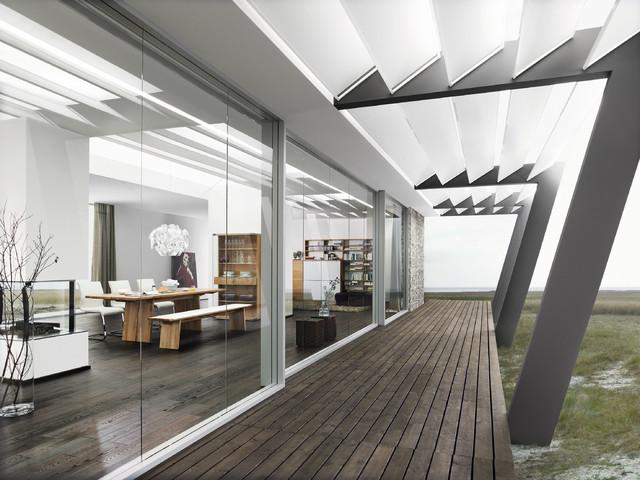 Nox Room Set Modern Exterior london by Wharfside : modern exterior from houzz.com size 640 x 480 jpeg 92kB