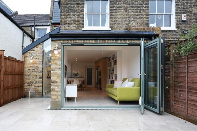 Balham Kitchen Extension Contemporary Kitchen London