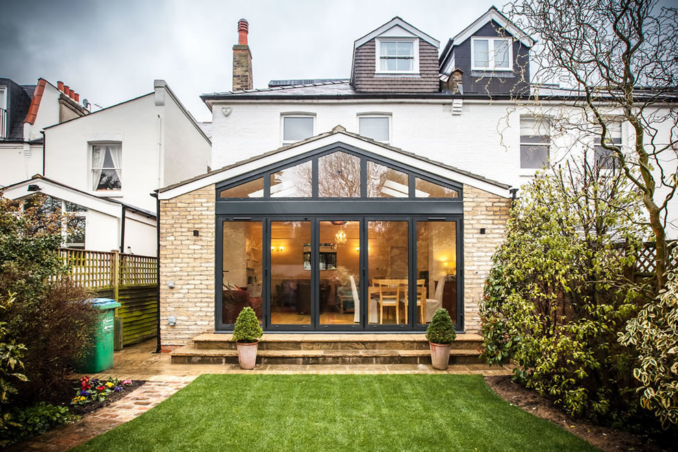 Pitched Roof Single Storey Extension In Teddington Traditional Exterior London By Go Building