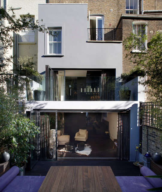 Private home west london contemporary exterior