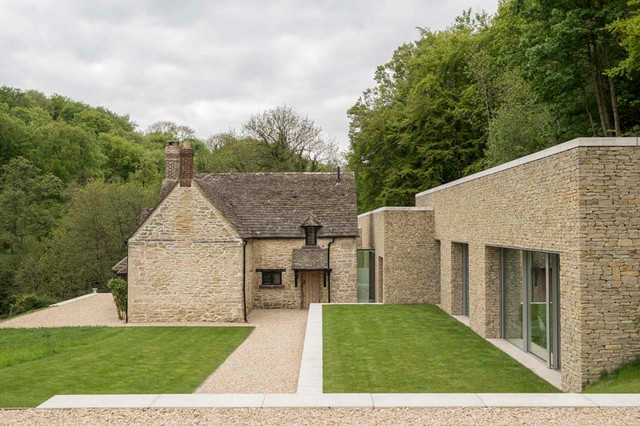 Private House Cotswolds Farmhouse Exterior London By Found Associates