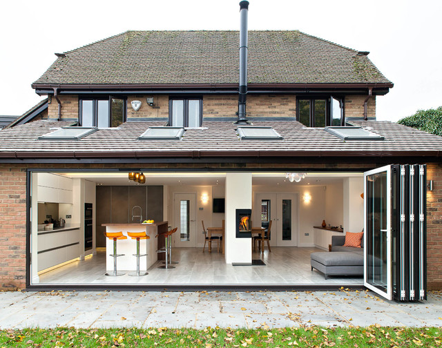 Private House Harpenden Scandinavian Exterior  : scandinavian exterior from www.houzz.com size 640 x 504 jpeg 152kB