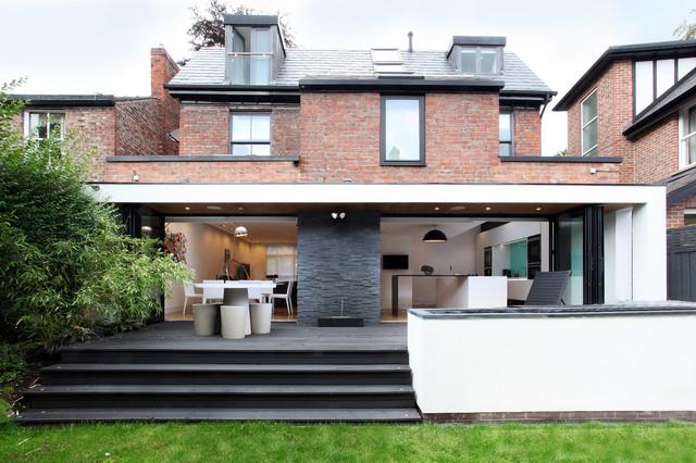 Rear Elevation contemporary-exterior