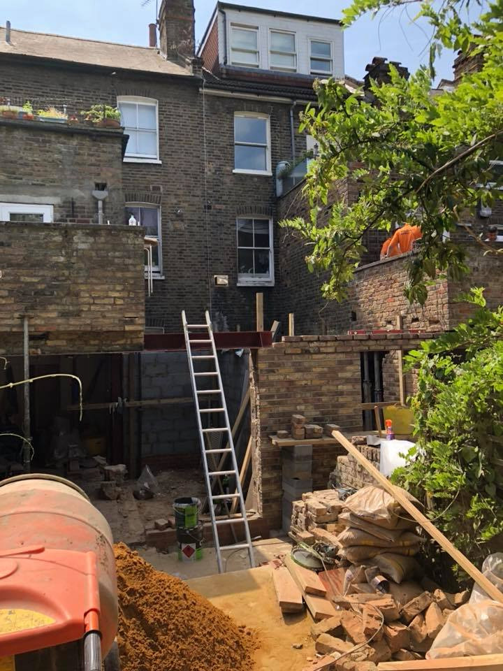 rear extensions nw6