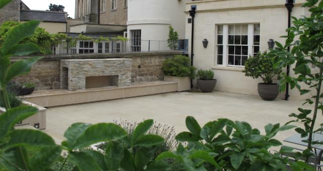 Royal crescent bath for Landscape architects bath