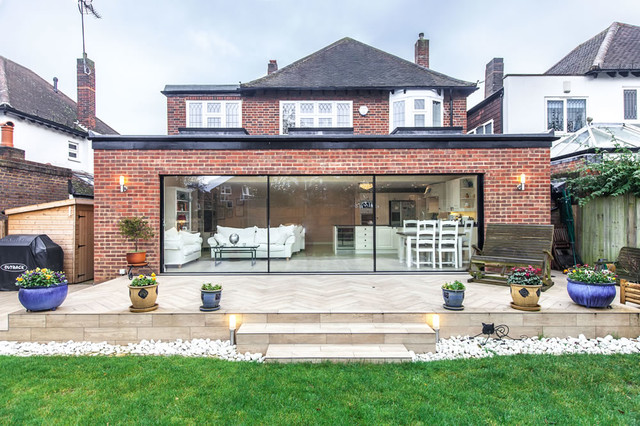 Single Storey Extension In Esher Surrey Don 39 T Move