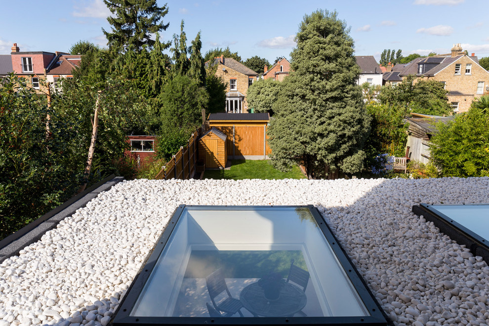 Single Storey Rear Extension In Surbiton Contemporary Exterior London By Vorbild Architecture