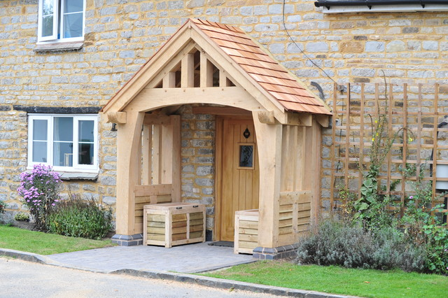 Solid Oak Porch