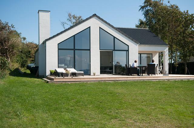 Sommerhus i funkisstil for Arkitekt design home