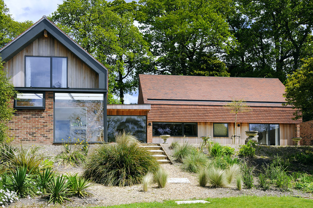 spinners rhs garden house contemporary exterior