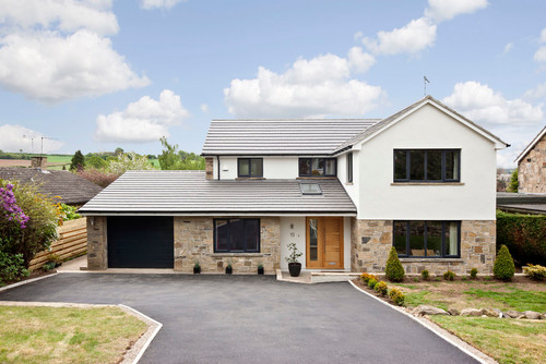 Leeds house makeover for Big modern houses in england
