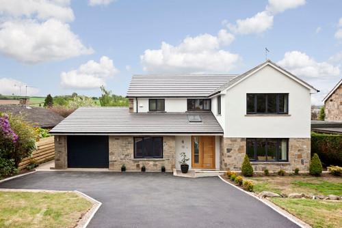 Leeds house makeover for Big modern houses uk