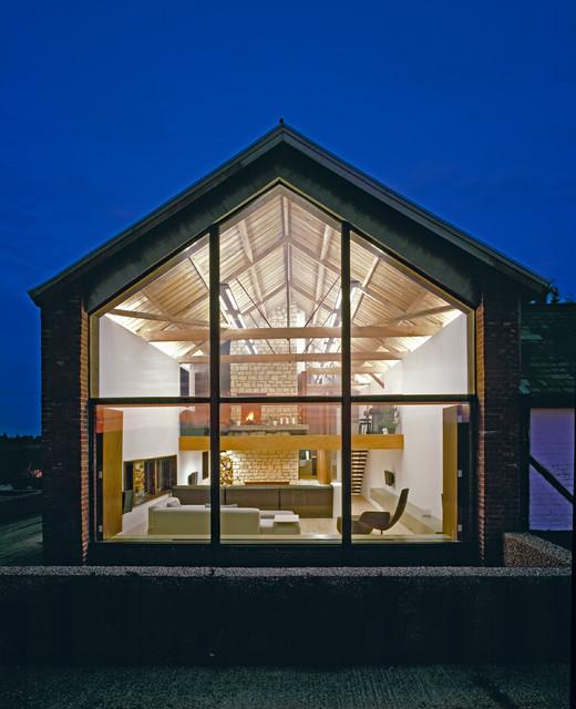 The Long Barn contemporary-exterior