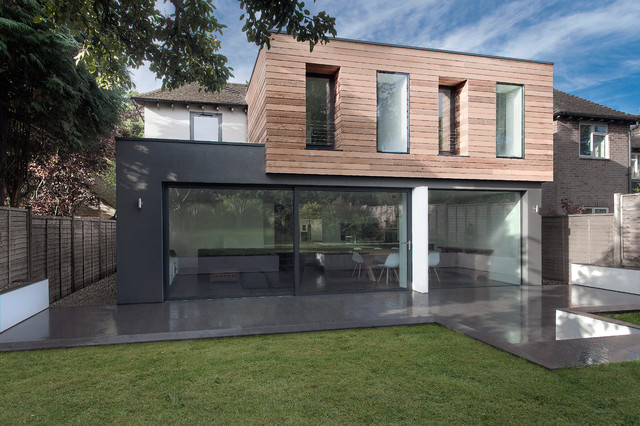 The Medic's House contemporary-exterior