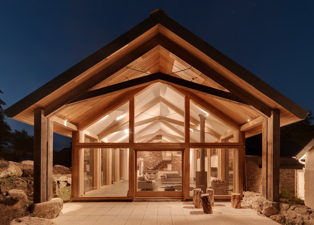 A Beginners Guide to LED Lighting : contemporary exterior from www.houzz.co.uk size 640 x 458 jpeg 95kB